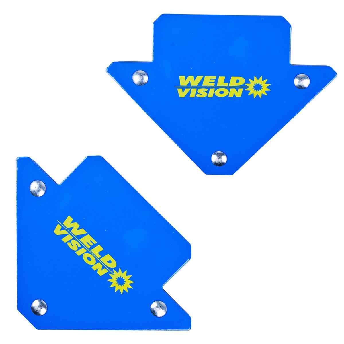 Kit Esquadros Magnéticos para Solda 10 Kg Weld Vision - 2 Peças