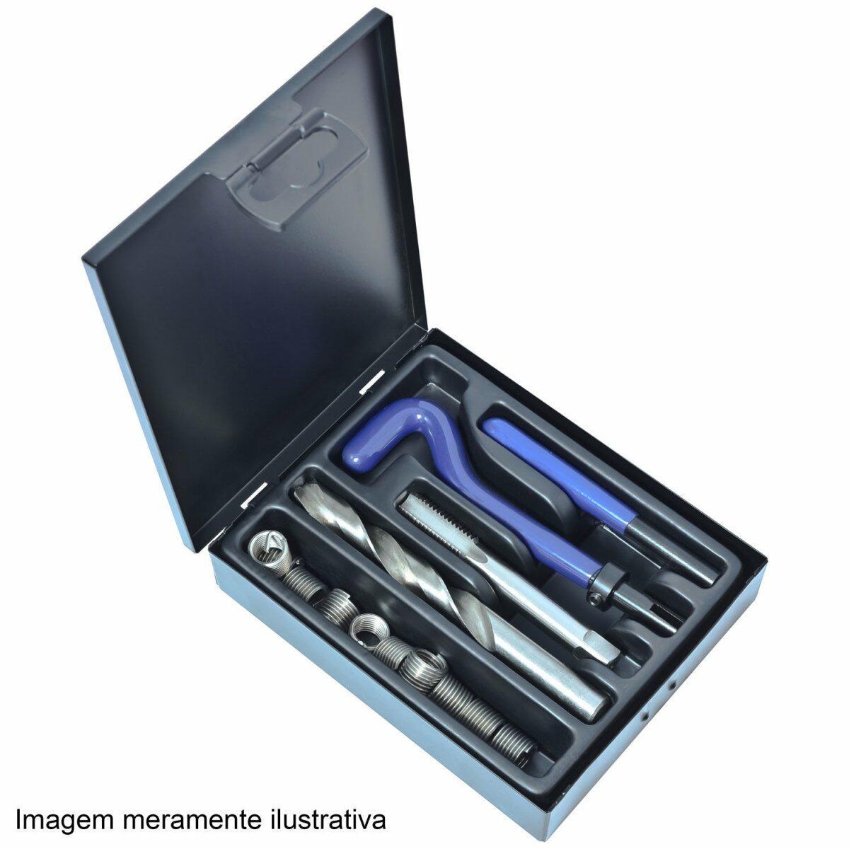 Kit Rosca Postiça Para Reparos MF12 x 1,50 Rocast 95,0026