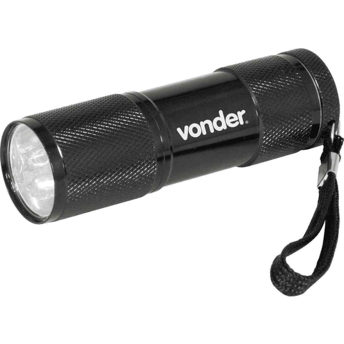 Lanterna Chaveiro com 9 Leds Vonder