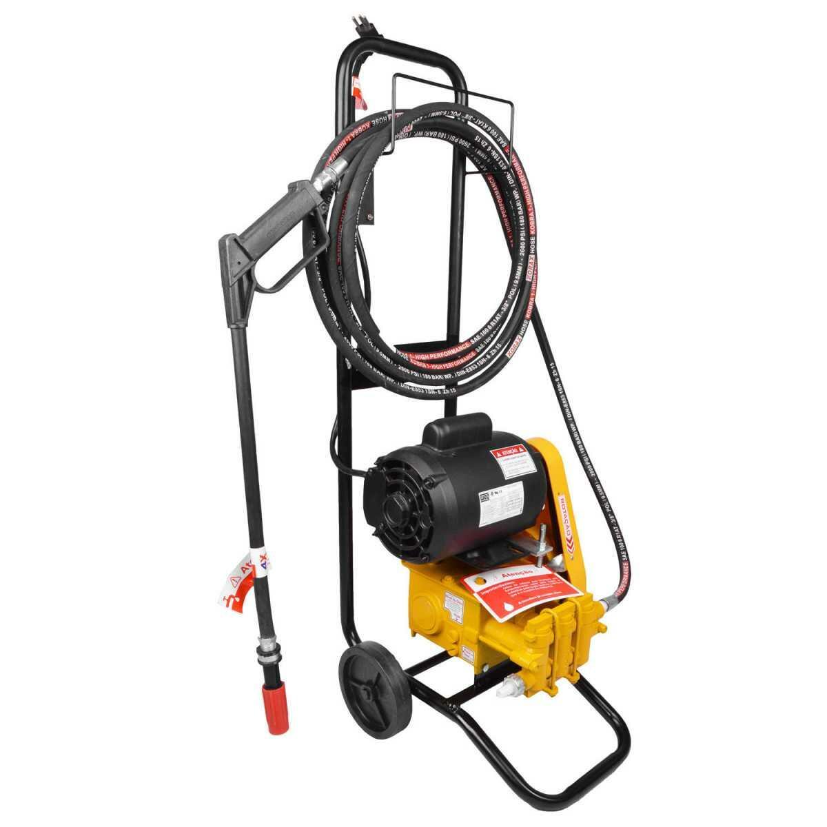 Lavadora Alta Pressão Profissional com Carrinho 450 Libras Mb147C Jhf4X 220V