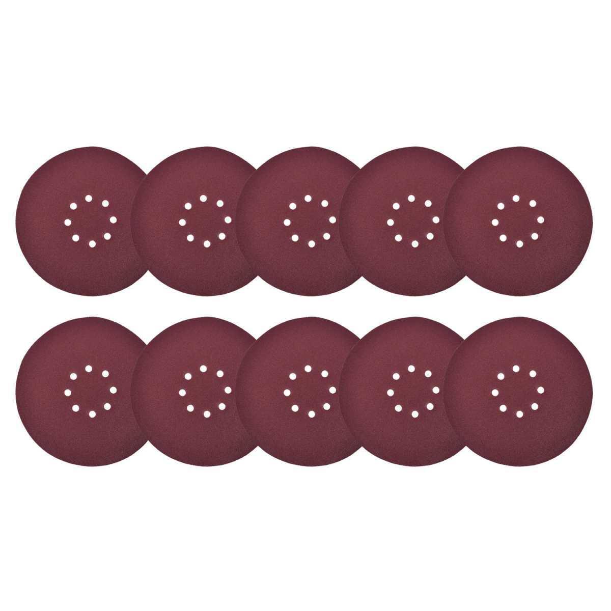 Lixa Disco para Lixadeira 225Mm 10 Peças Grão 60 Wbr