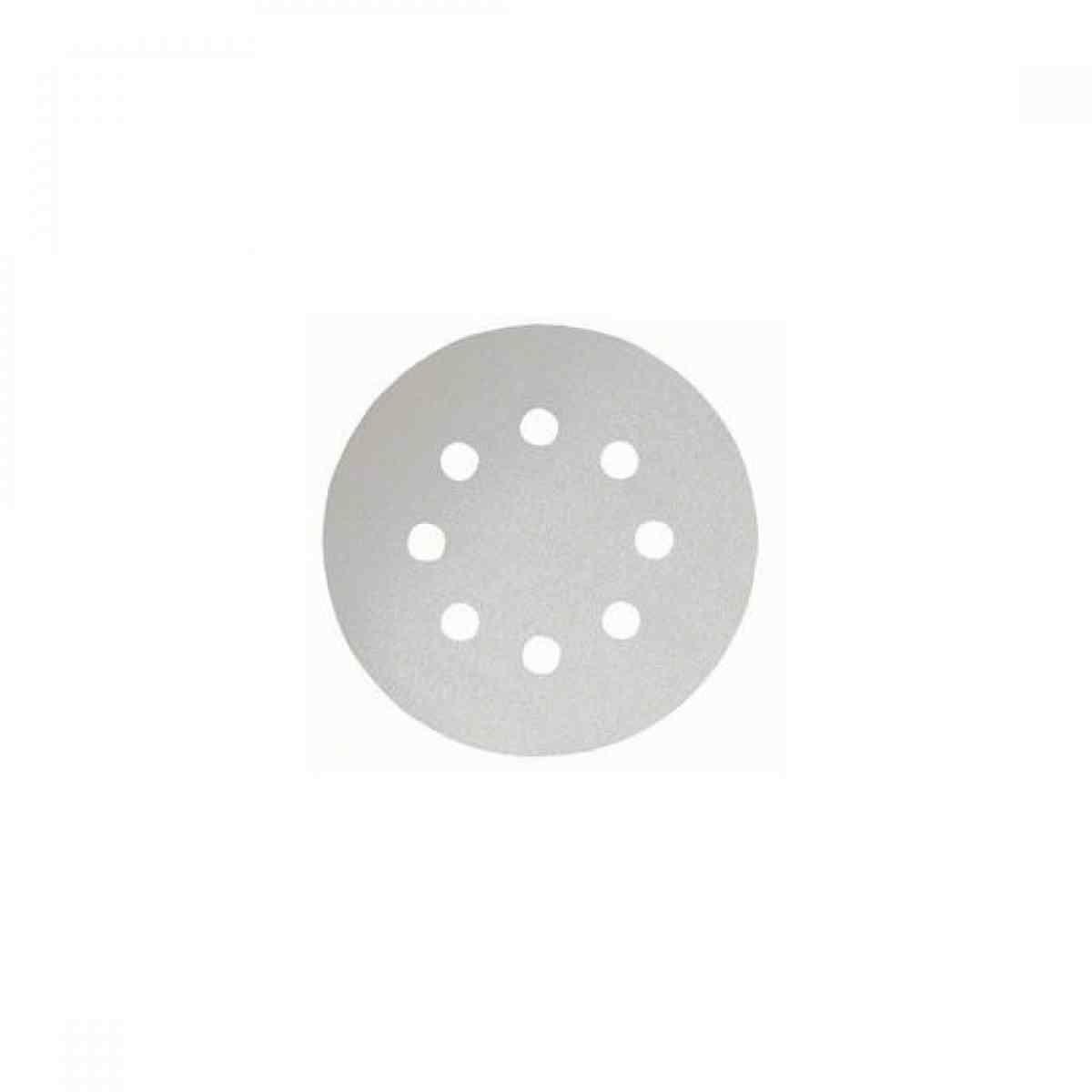 "Lixa Disco Velcro Tinta/Vern 5"" G320 8F 5Pçs Best For Paint Bosch"
