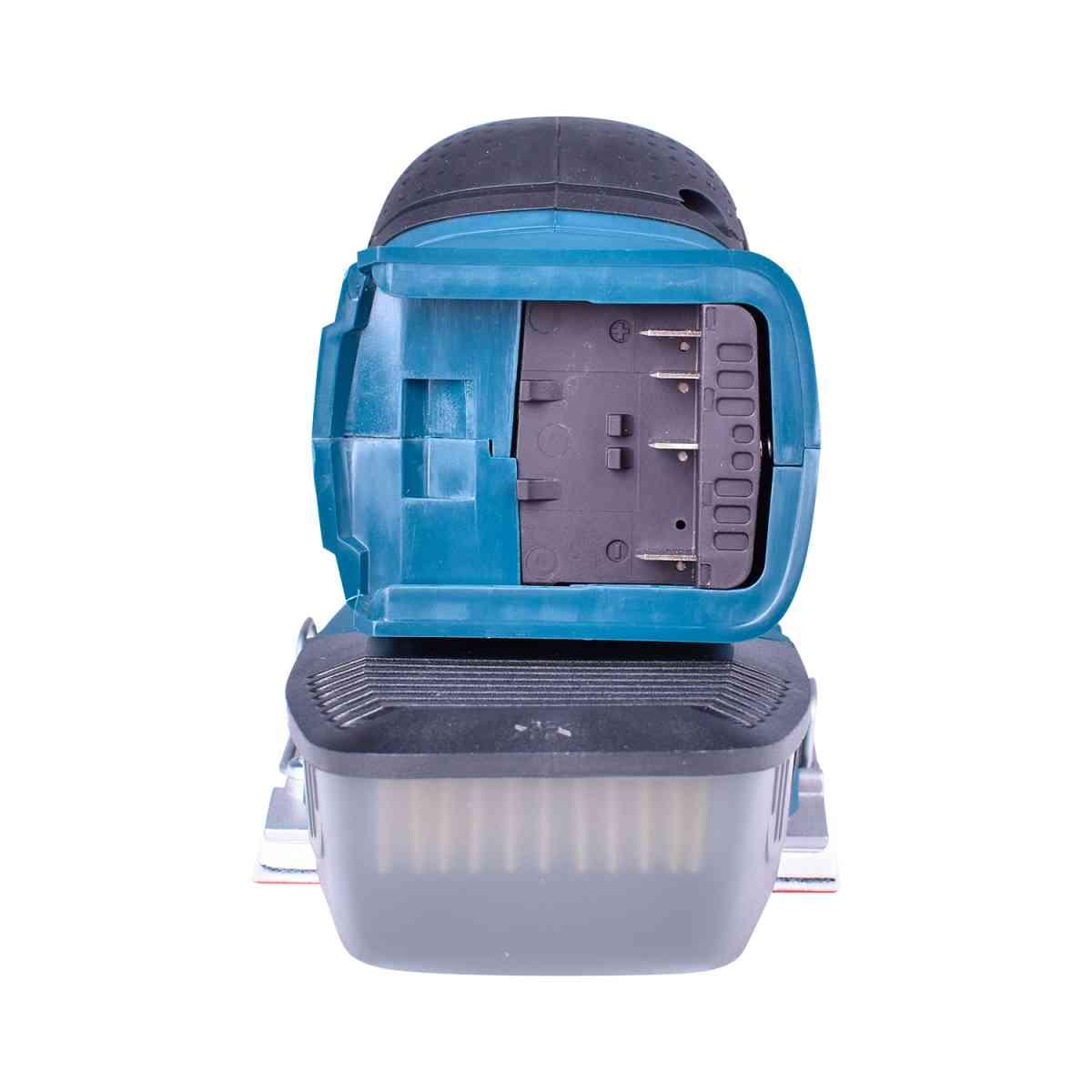 Lixadeira Orbital Gss18V-10 + Aspirador de Pó Portátil Gas18V-1 + Carregador com 2 Baterias 18V + Bolsa Para Ferramentas Bosch