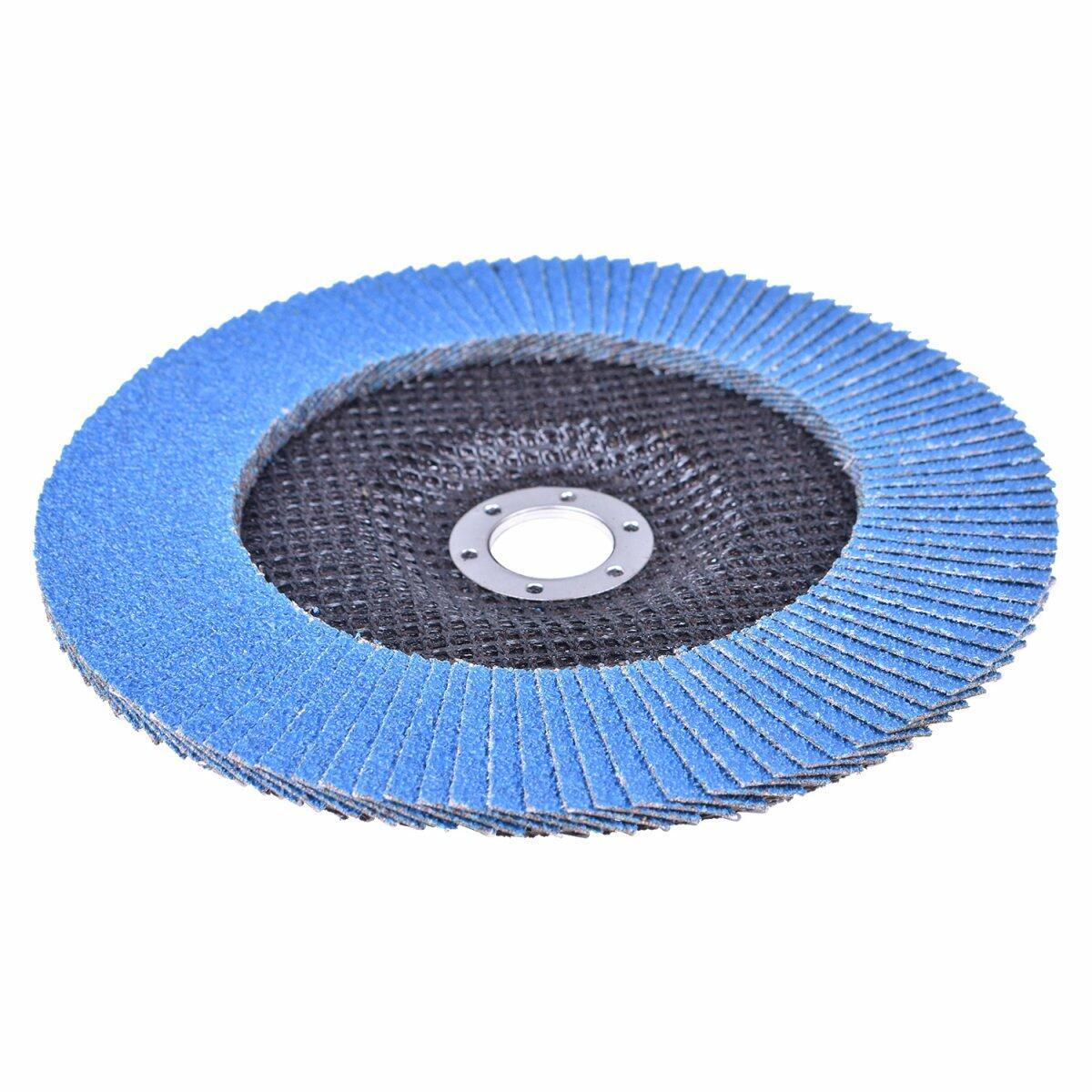 Lixas Disco Flap com 200 Peças 180 × 22 mm G40 Bumafer