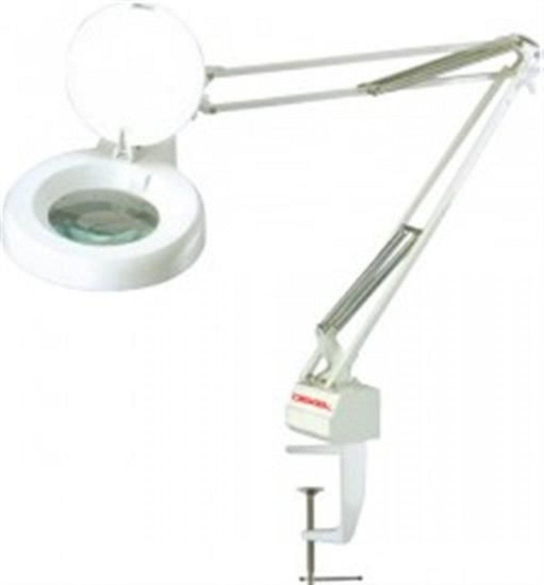 Lupa de bancada c/ iluminação 5x 22watts 110v tl1020 dekel