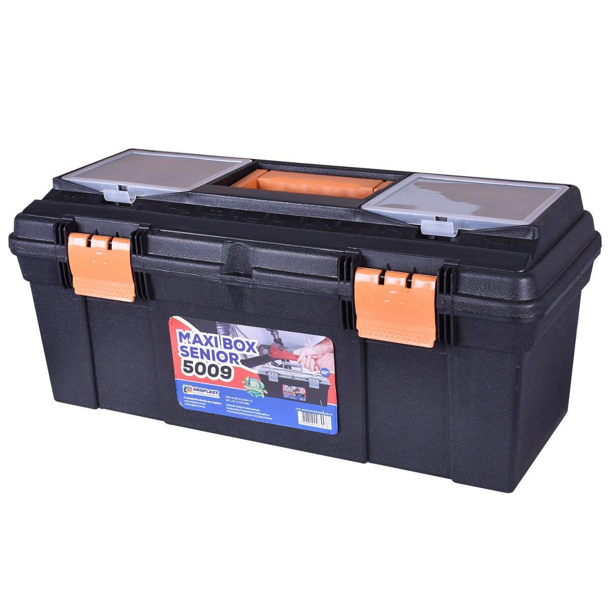 Maleta de Ferramentas Maxi Box Senior 5009 Bumafer