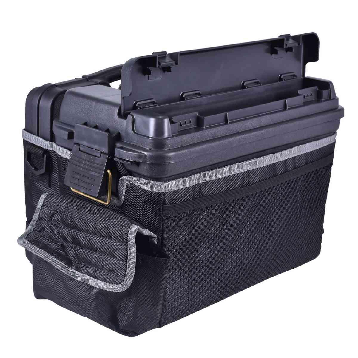 Maleta Para Pistola + Caixa de Acessórios e Bolsa Plano