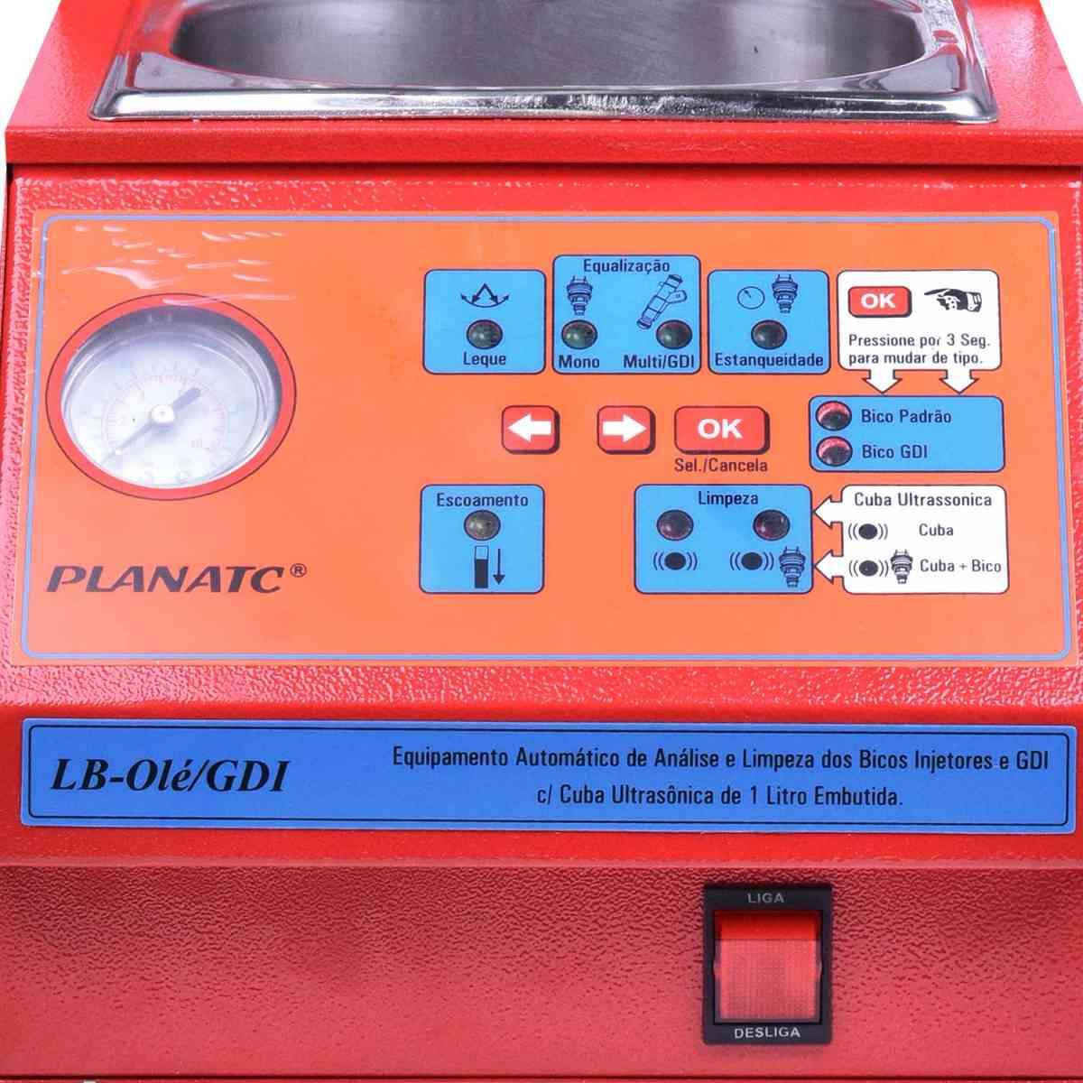 Máquina P/ Teste e limpeza de Bicos LB-OLE/GDI Planatc