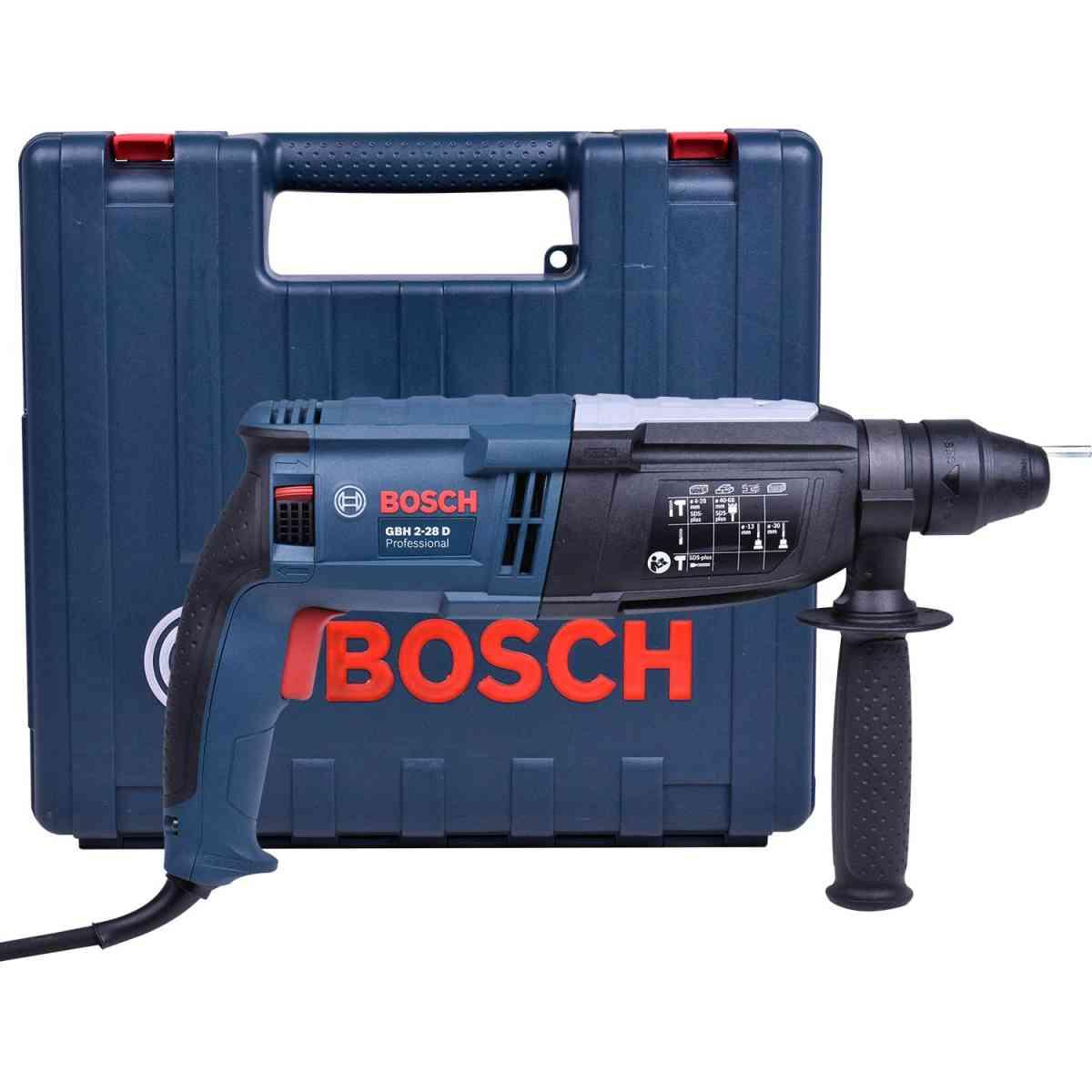 Martelete Perfurador 850W com SDS Plus GBH2-28D Bosch - 127V