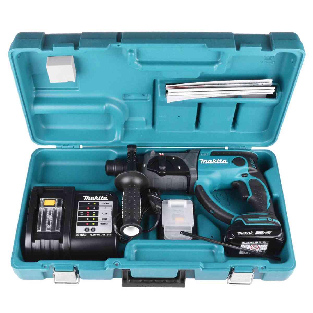 Martelete Perfurador Com 2 Baterias Dhr202sye Makita - 127V