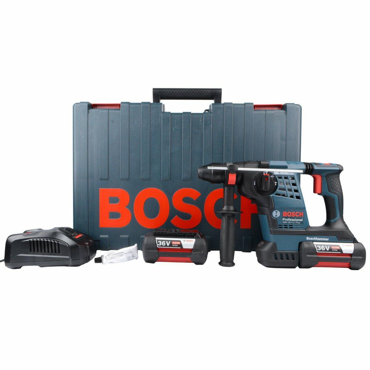 Martelete Perfurador Demolidor a Bateria GBH36V-LI PLUS Bosch - 220V
