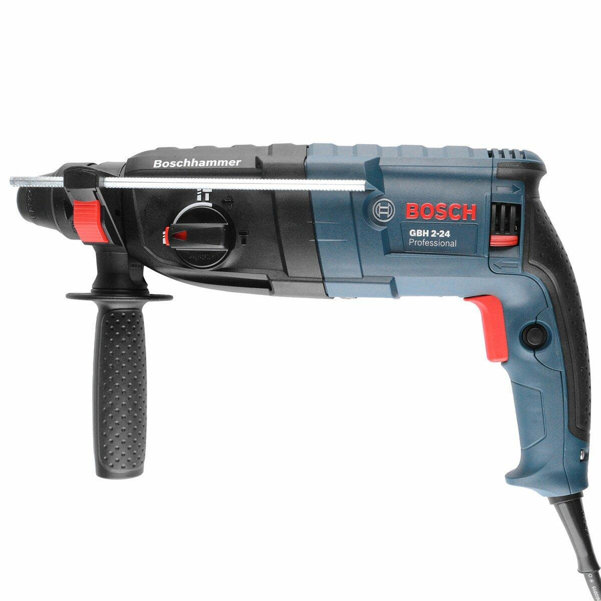 Martelete Perfurador SDS 800W GBH 2-24 Professional Bosch - 220 Volts