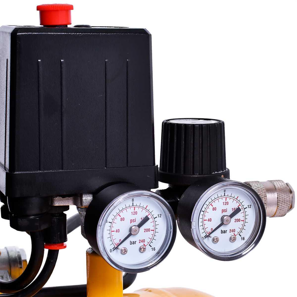 Moto Compressor de Ar 8 Pcm 24L Hobby Motopress Pressure 127V