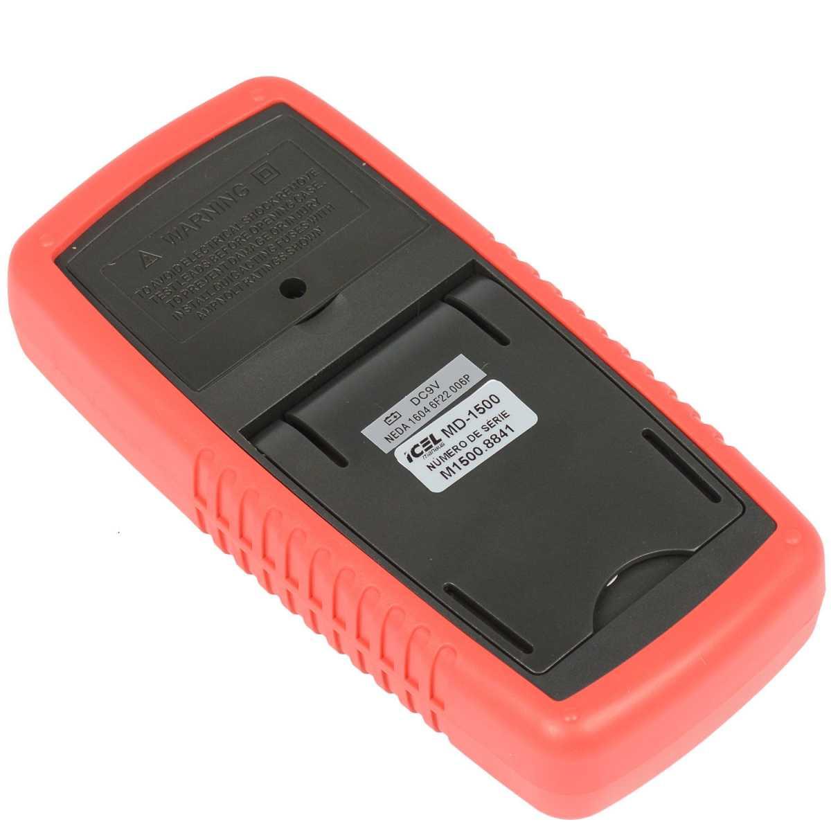 Multimetro Digital Ac/dc Md-1500 Icel - 10 Amperes