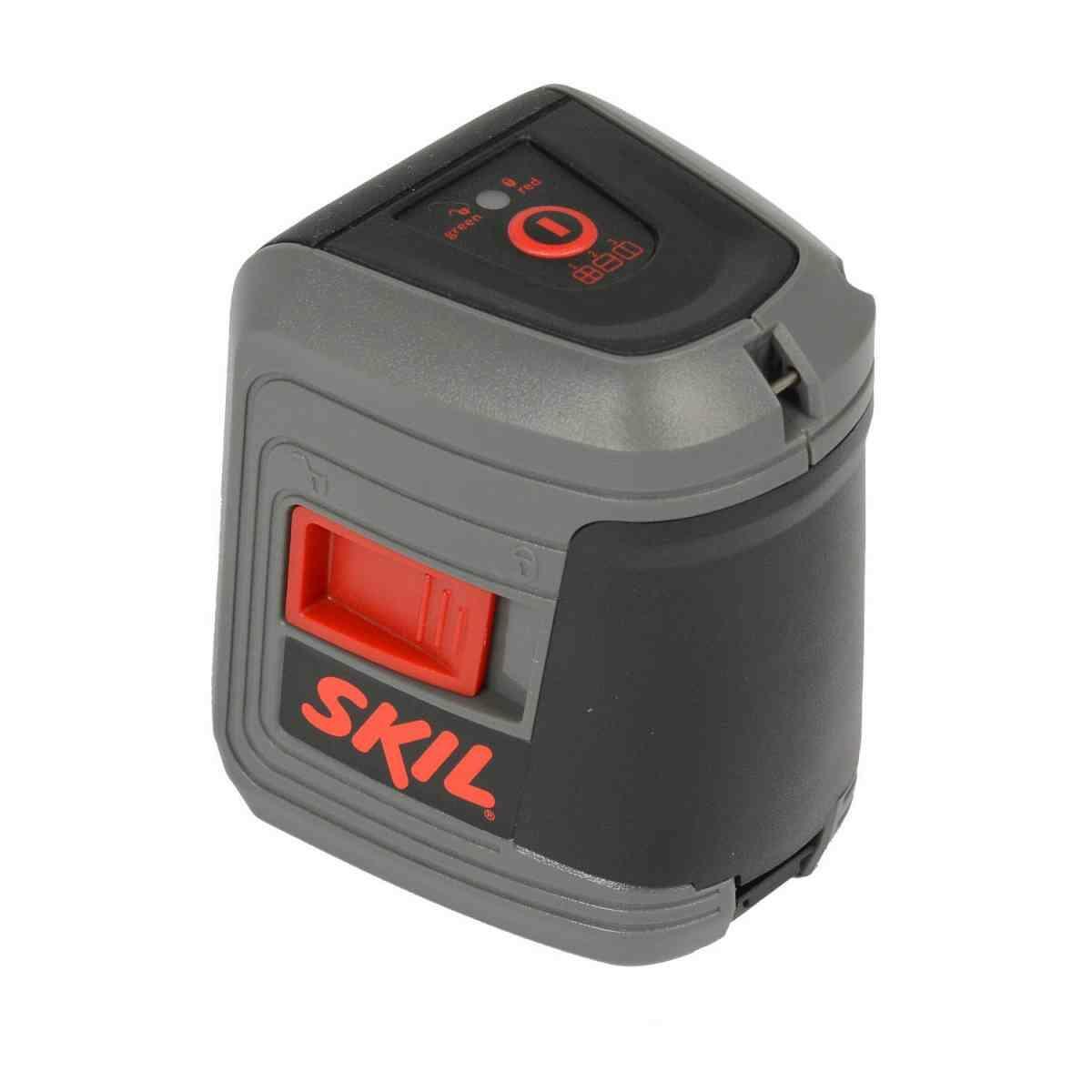 Nível À Laser 10 M Com 2 Linhas Cruzadas E Suporte 0511 Skil