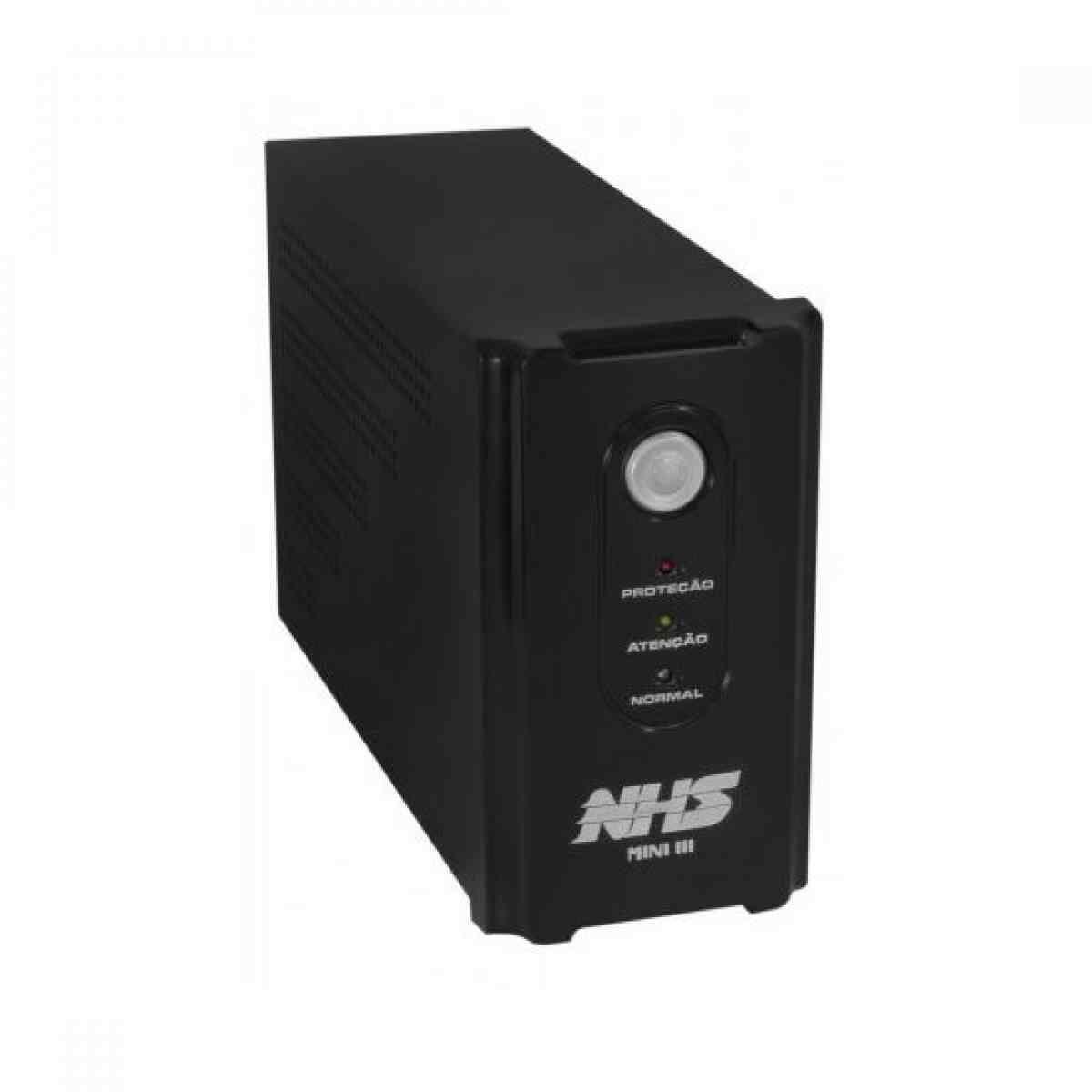 Nobreak Mini III 700VA/350W Bivolt 7AH NHS