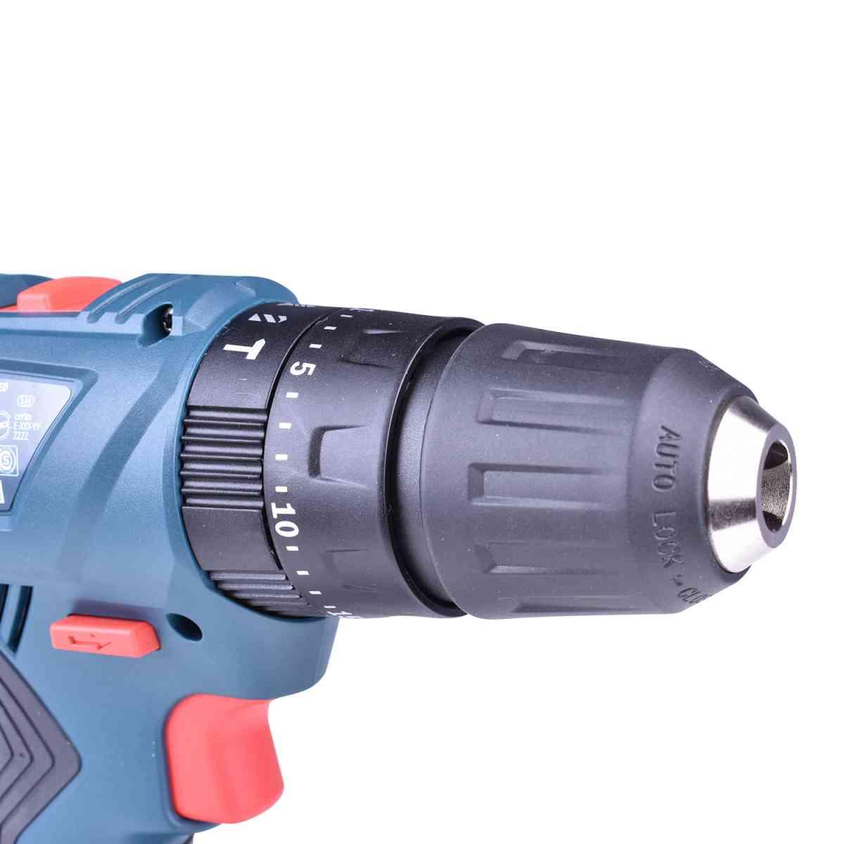 Parafusadeira / Furadeira de Impacto Gsb180-Li + Serra Sabre GSA18V-LI + Carregador com 2 Baterias 18V + Bolsa Ferramentas Bosch