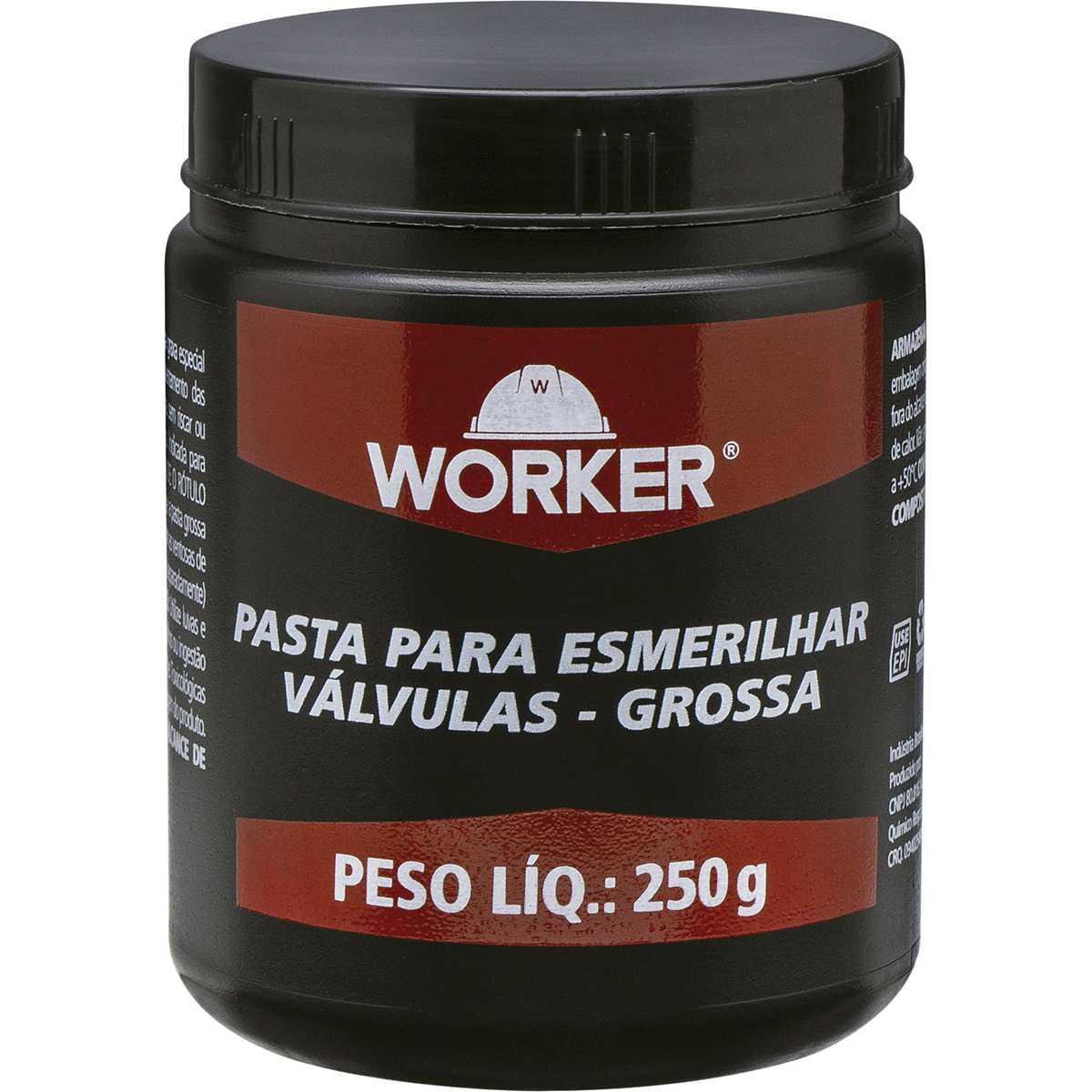 Pasta para Esmerilhar Válvulas Grossa 250G Worker