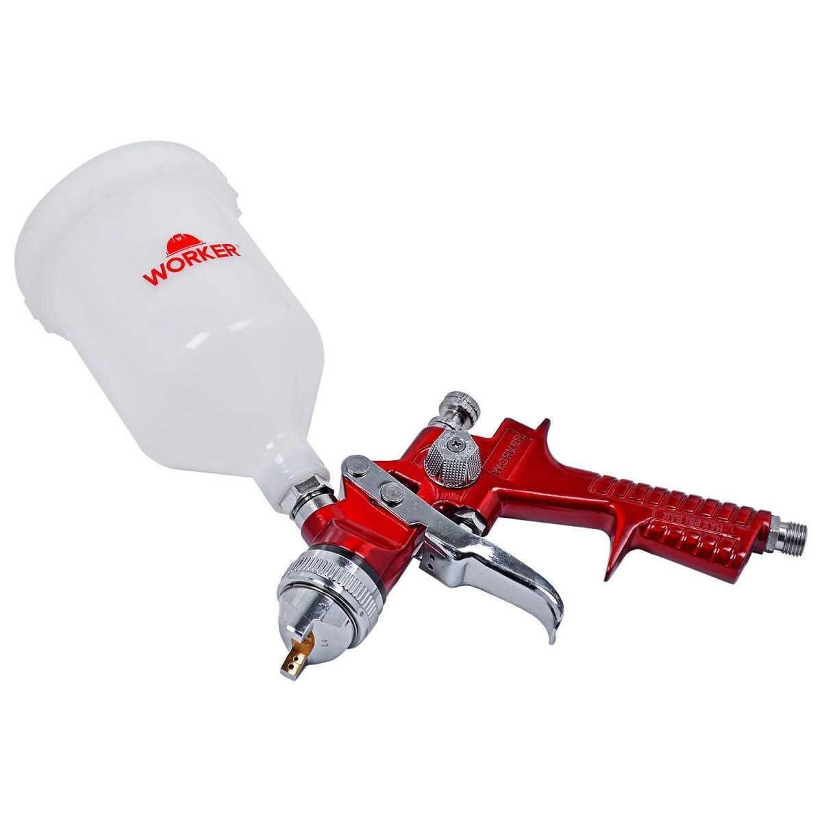 Pistola de Pintura Gravidade Hvlp Worker