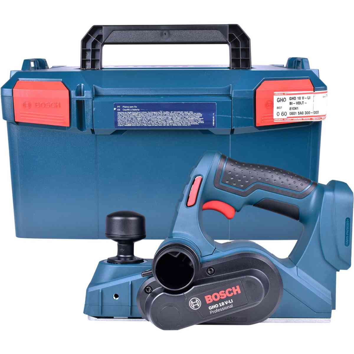 Plaina a Bateria 18V Gho18V-Li Bosch