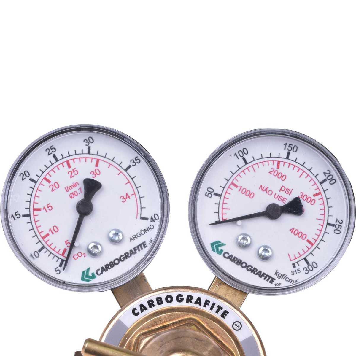 Regulador de Pressão Co2 Serie 700 Carbografite