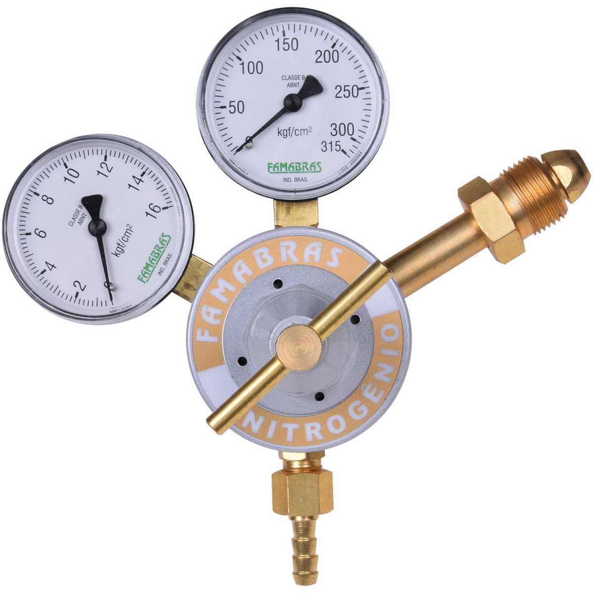 Regulador de Pressão para Nitrogênio Frn-140N Famabras