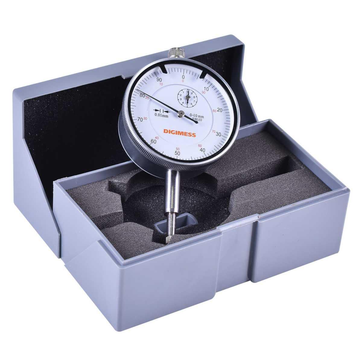 Relógio Comparador 0 - 10Mm (0,01Mm) 121.304 Digimess
