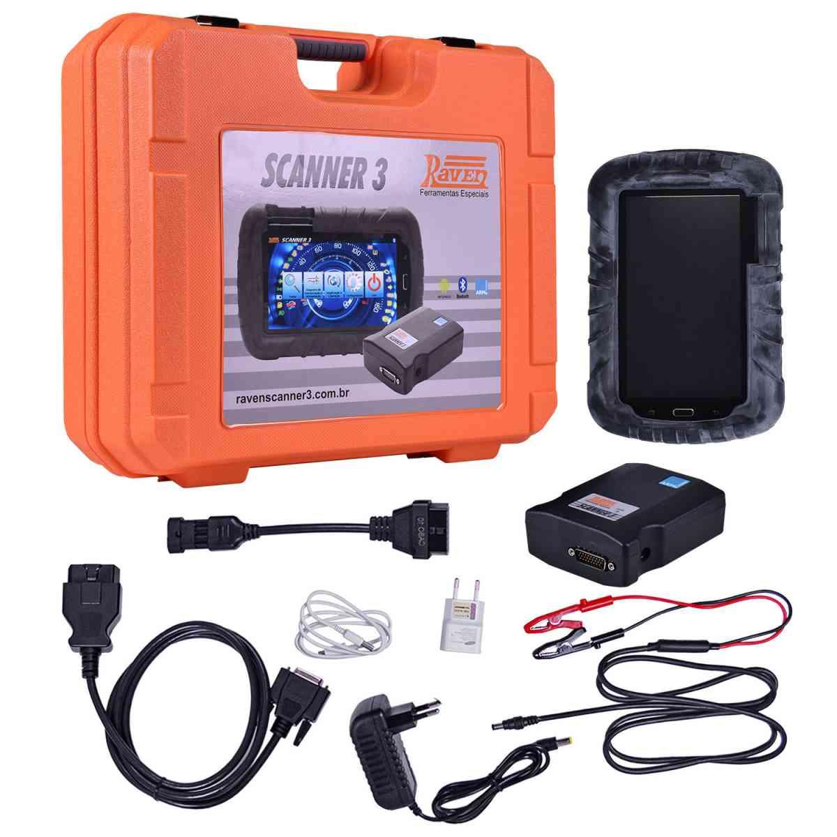 Scanner 3 para Automóveis Diesel Leve e Pesado 108800 Raven