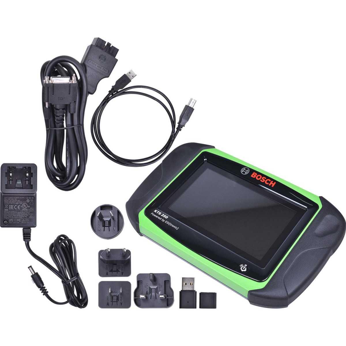 Scanner Automotivo de Diagnostico Kts250 Bosch Automotivo