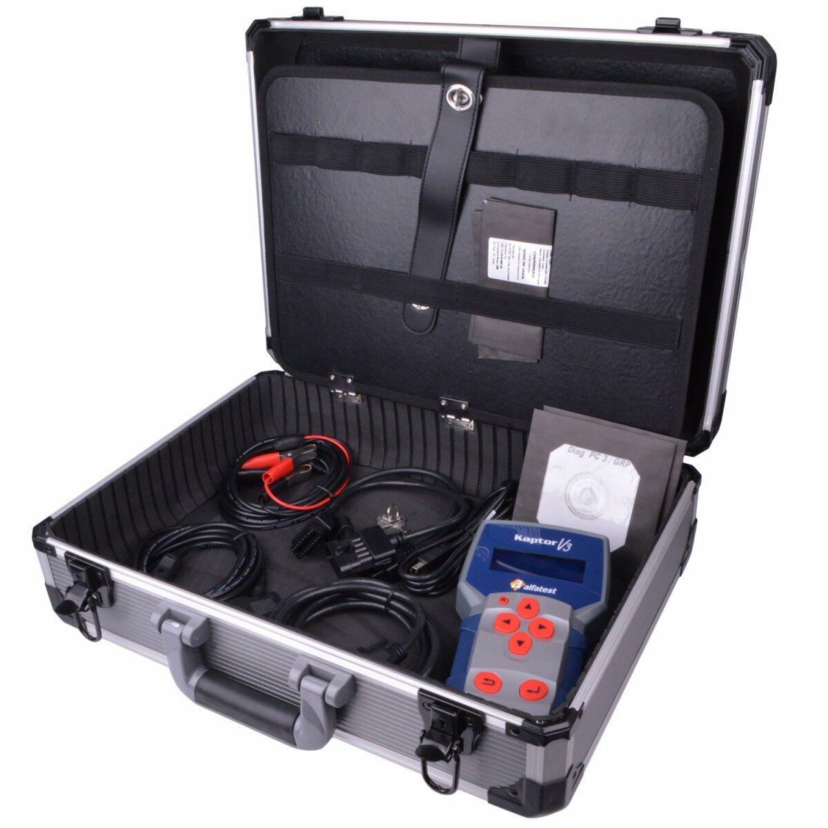 Scanner Automotivo Kaptor V3 C/ Pack 30 e Credit 20 Alfatest