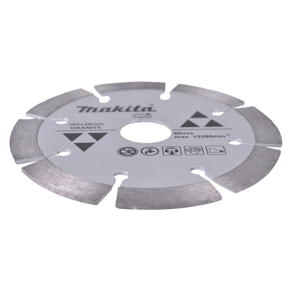 Serra Mármore C/ 2 Discos Concreto 4100NH3Z Makita 127V + Disco Granito