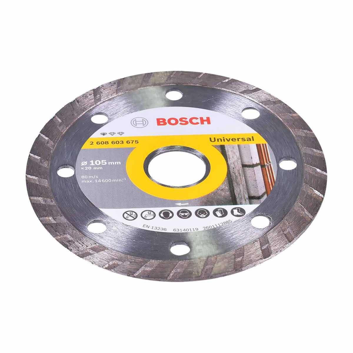 Serra Mármore Titan 1500W com 2 Discos Gdc150 Bosch - 127V