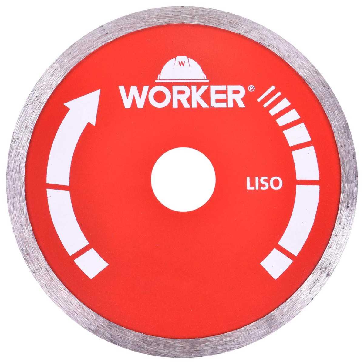 Serra Mármore 1300W Worker com 3 Discos Diamantados 110X20Mm 220V