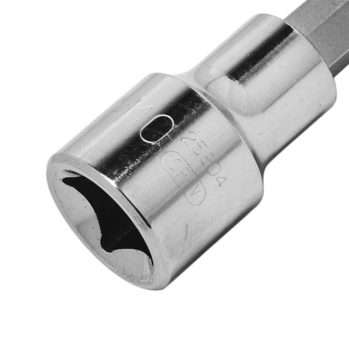 Soquete Multidentado Longo 10 MM Encaixe 1/2 Sata St25804Sc