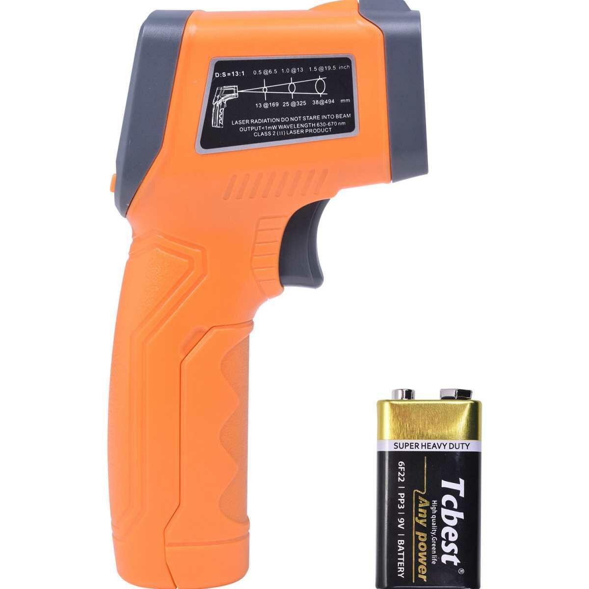 Termômetro Digital Infravermelho com Mira Laser Td-580 Icel