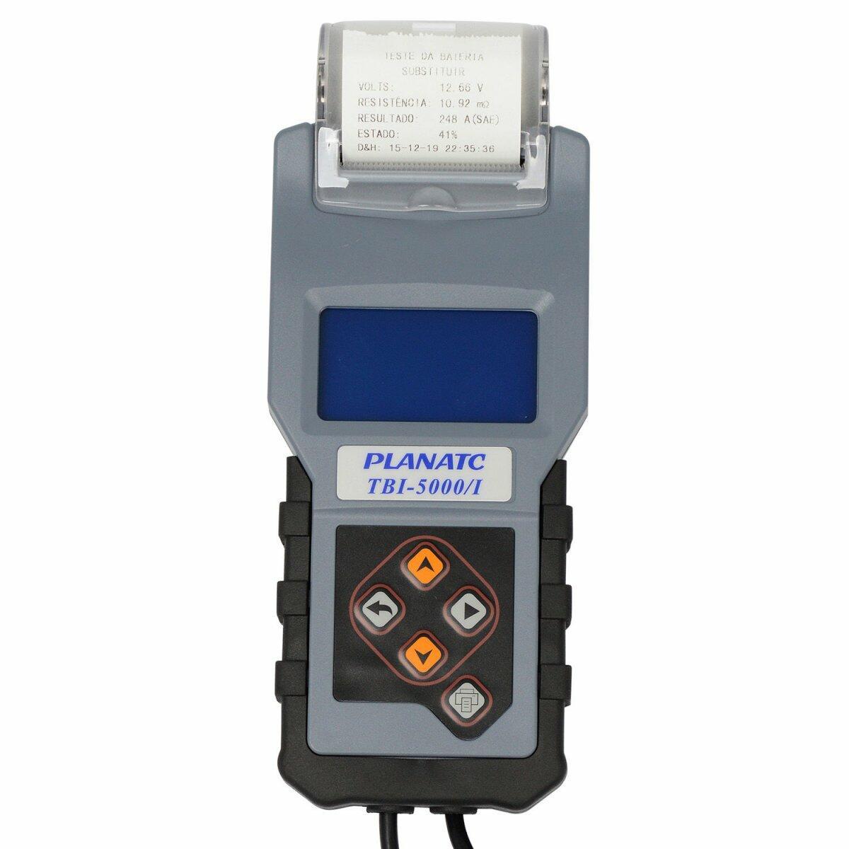 Teste de Bateria Alternador 600A TBI-5000/L Planatc