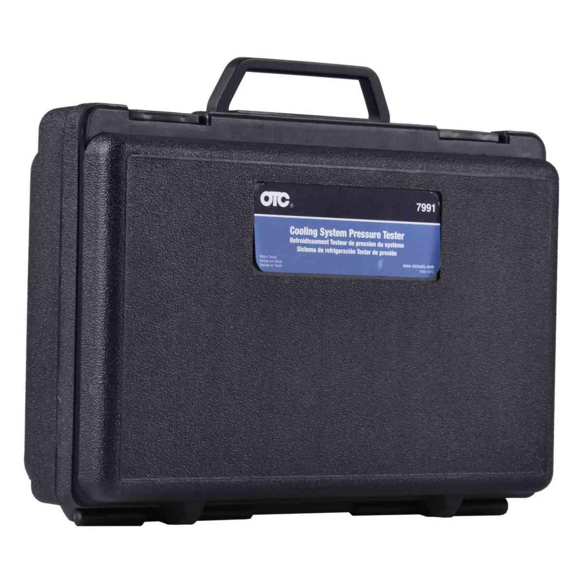Teste Pressão Sistema Refrigeração Carro/Moto 7991 OTC Bosch