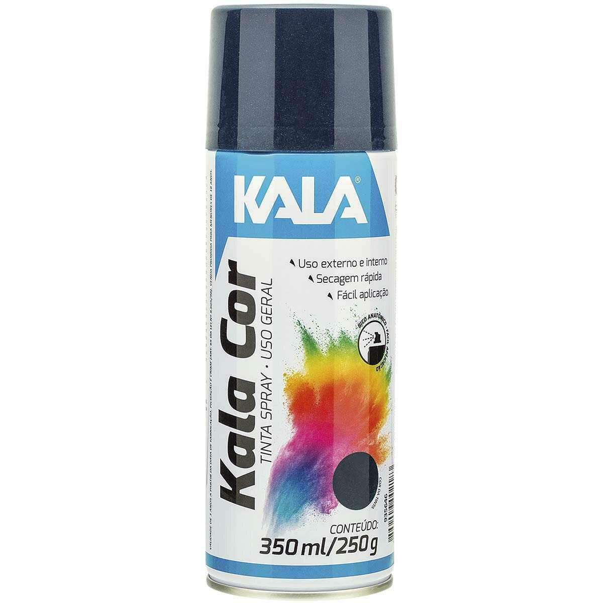 Tinta Spray uso Geral Kala Azul Escuro 350Ml