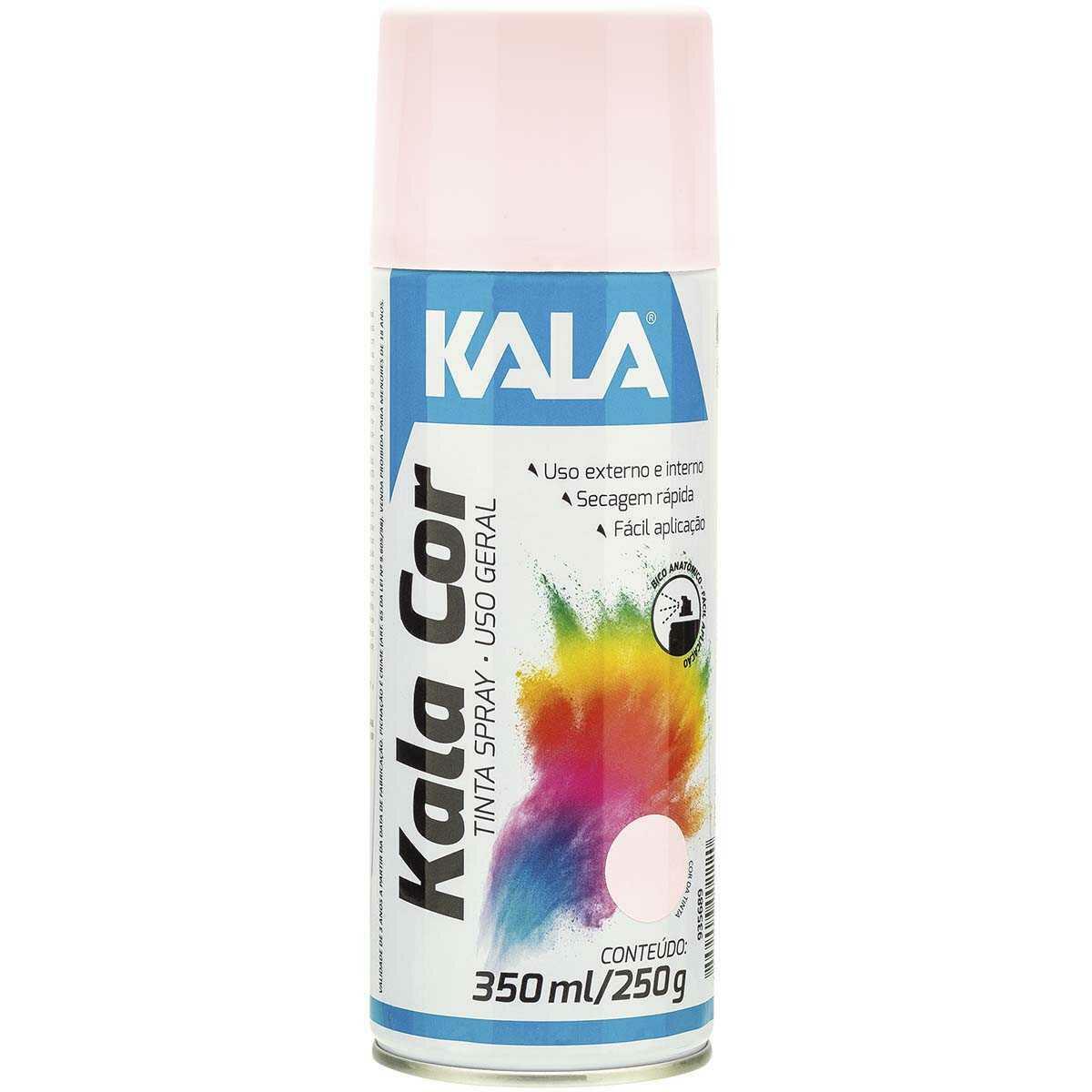 Tinta Spray uso Geral Kala Rosa 350Ml