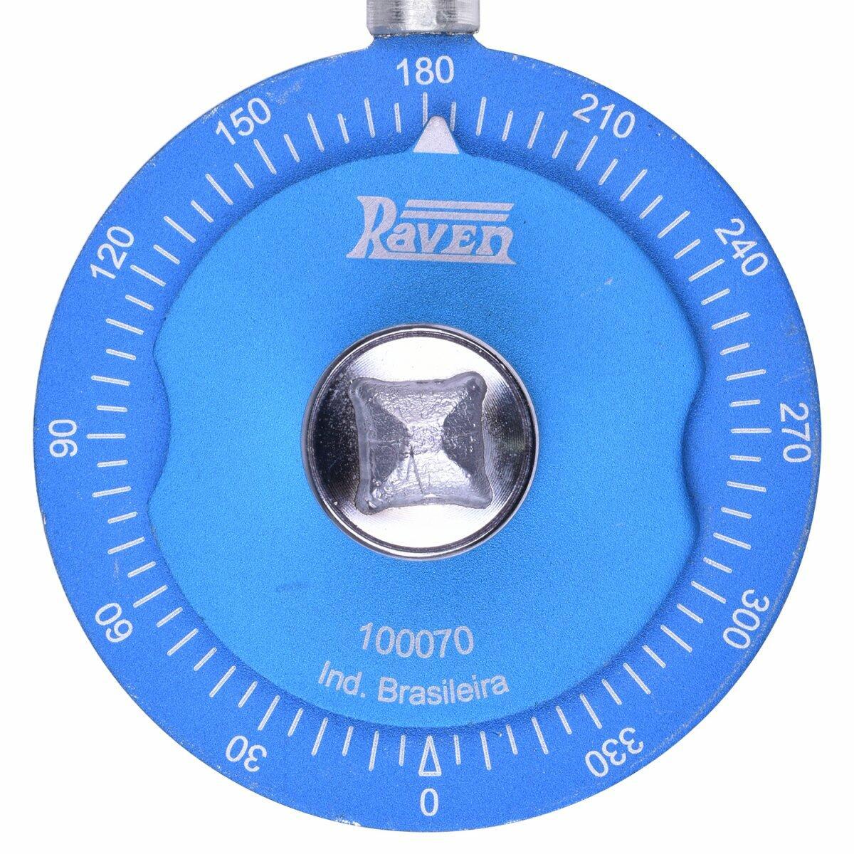 Transferidor Com 360° Encaixe Quadrado 1/2 100070 Raven