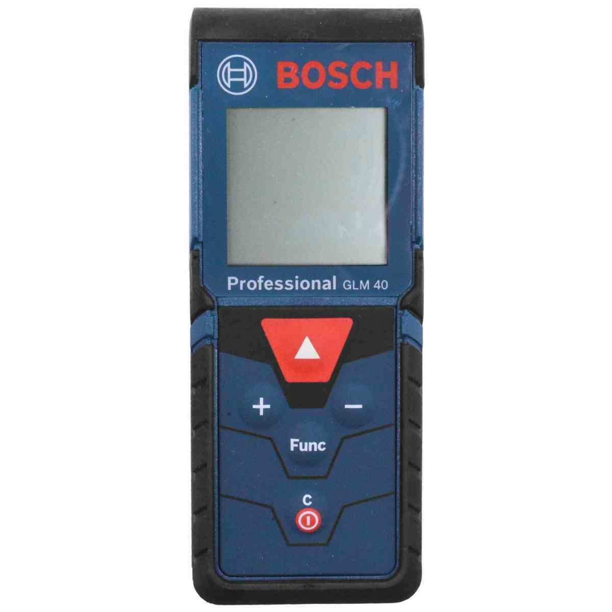 Trena À Laser Digital para Medições 0,15 À 40 M Glm40 Bosch
