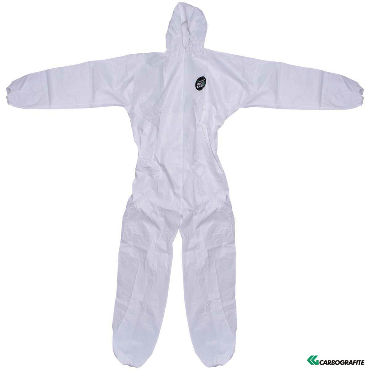 Vestimenta/macacão de Proteção Pro Skin 3 Carbografite - Tamanho M