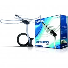 ANTENA EXT DTV-3000 AQUARIO DIGITAL KIT COMPLETO