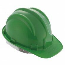 Capacete De Segurança Construção Com Carneira Verde Worker
