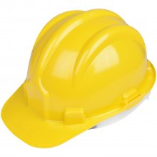 Capacete PLT na cor Amarela Plastcor