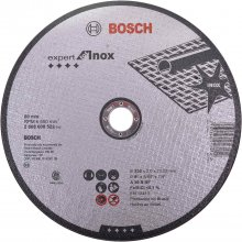 Disco de Corte Expert For Inox 230 mm x 22,23 mm G30 Bosch