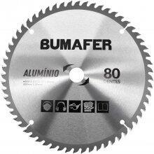 """Disco de Serra 12"""" X 30mm Para Alumínio 80 Dentes Bumafer"""