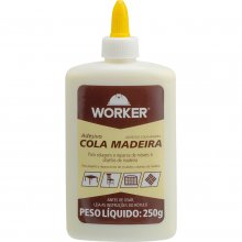 ADESIVO COLA PARA MADEIRA WORKER 250G
