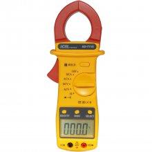 Alicate Amperímetro Voltímetro Digital Ac/Dc Ad7710 Icel