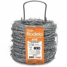 Arame Farpado 1,60mm 100m Belgo Rodeio